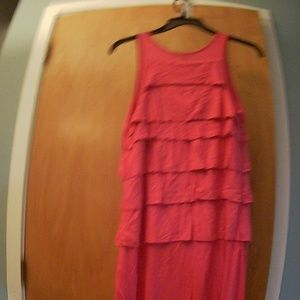 Banana Republic -Tank Dress - Magenta Pink - S